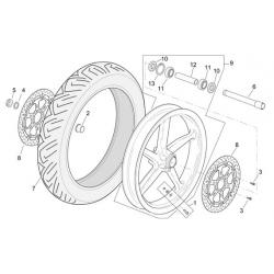 roue avant RSV R