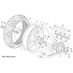 roue arrière RSV mille