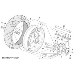 roue arrière RSV mille R