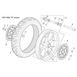 3 - Vis disque de frein avant