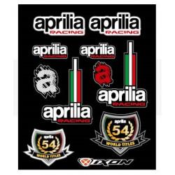Planche stickers Aprilia...