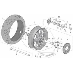 06 - Silent bloc roue arrière